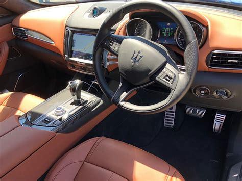 maserati levante interior plan 2018 maserati levante s interior car review central
