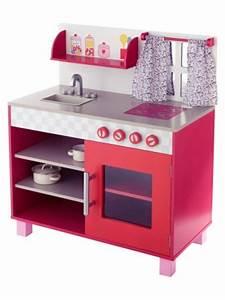 Cuisinette Pas Cher : cuisine en bois jouet pas cher cuisine enfant jouet ~ Edinachiropracticcenter.com Idées de Décoration
