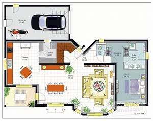 maison de caractere 1 detail du plan de maison de With maison sweet home 3d 12 plan maison 3d sur terrain