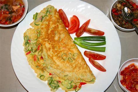 resep telur dadar ala padang resep masakan dapur arie
