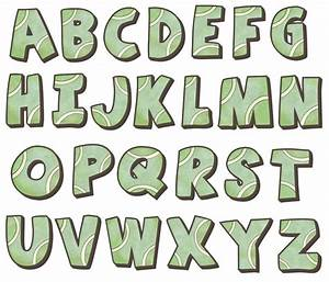 tennis alphabet wall decals With decal alphabet letters