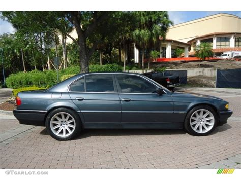 Anthracite Metallic 2000 Bmw 7 Series 740i Sedan Exterior