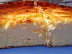 Supercremiger Käsekuchen ohne Boden (Rezept mit Bild