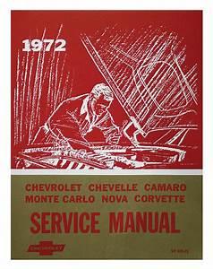 1972 Chevelle Chassis Service Manual   Opgi Com