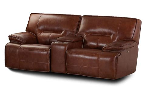 Flexsteel Reclining Loveseat With Console by Stede Power Glider Loveseat With Console Fair Flexsteel