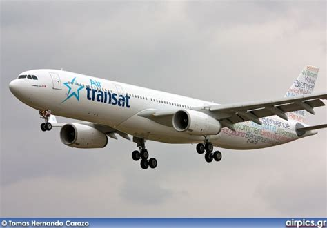 airpics net c gkts airbus a330 300 air transat medium size