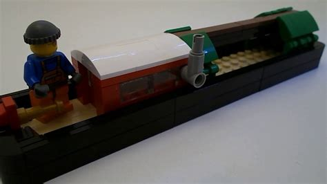 Lego Narrow Boat by Moc Monday Lego Canal Boat