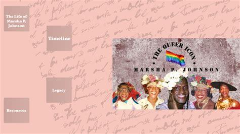 Marsha P. Johnson by Kaitlyn Cheekinew