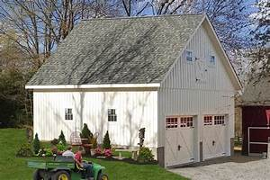 Detached Two Car Garages From The Amish In Pa