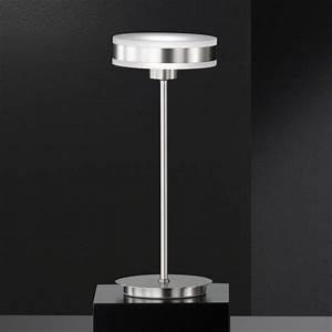 Tischlampe Led Dimmbar : fischer honsel led tischlampe puk dimmbar 59330 ~ Whattoseeinmadrid.com Haus und Dekorationen