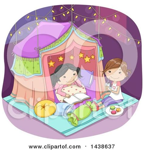 royalty  rf pajama party clipart illustrations