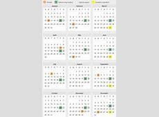 Option Expiration Calendar 2017 » Calendar Template 2018
