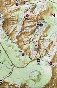 Bryce Canyon National Park Utah Map