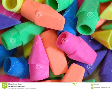 pencil eraser background stock image image  group pink
