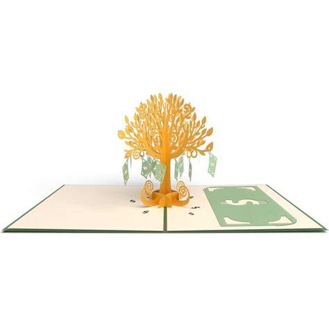 money tree pop  birthday card lovepop