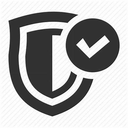 Icon Security Secure Firewall Protection Shield Shopping