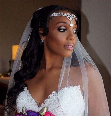 Black Half Hairstyles by 50 Superb Black Wedding Hairstyles In 2019