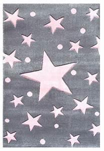 Teppich Grau Rosa : teppich sternen punkten grau rosa ~ Indierocktalk.com Haus und Dekorationen