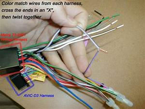 Diy Installation Of Avic  U0026 Other Aftermarket Hu U0026 39 S For W203  Warning  Lots Of Images