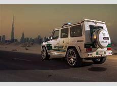 Dubai Gets BRABUS G63S700 Widestar Police Cruiser