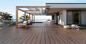 Sol Pour Terrasse : sol terrasse 20 beaux carrelages pour une terrasse ~ Edinachiropracticcenter.com Idées de Décoration