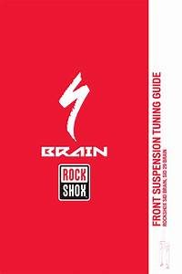 Rockshox Sid Brain  Sid 29 Brain Tuning Guide  Revb