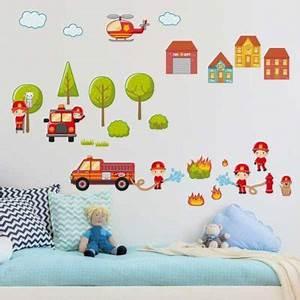 Feuerwehr Lampe Kinderzimmer : feuerwehr wohnideen dekoschn ppchen f r ~ Lateststills.com Haus und Dekorationen