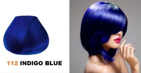Adore Semi Permanent Hair Color #112 Indigo Blue 4oz