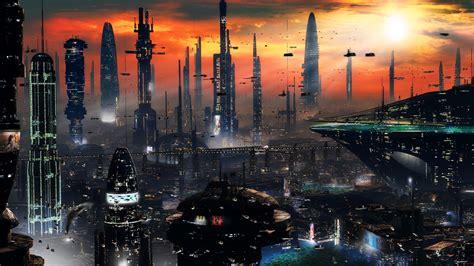 chambre cité u vues panoramiques de villes futuristes chambre237