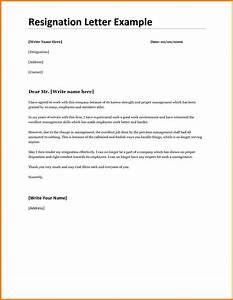 Best Resignation Letter Format Cashier Resumes Certificate