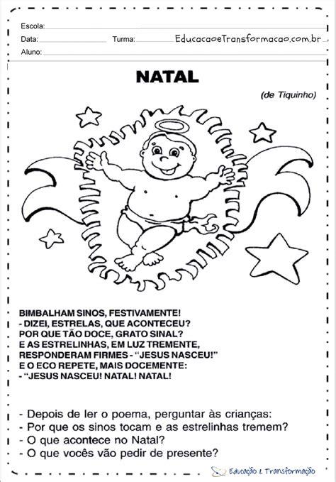 natal atividades natal  ensino fundamental