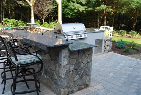 outside kitchen countertops outdoor kitchen kingston ma photo gallery landscaping network