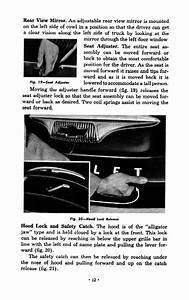 1954 Chevy Truck Owner U0026 39 S Manual