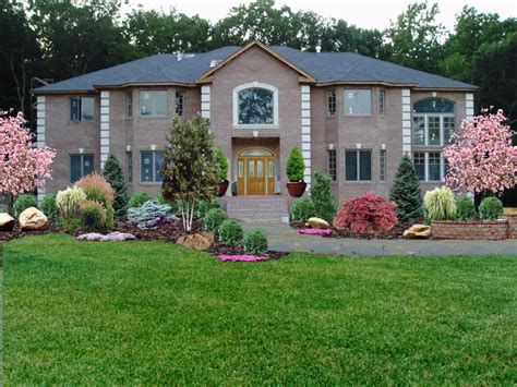 low maintenance front yard landscape design low maintenance front yard landscaping new jersey landscaping kinnelon landscape design