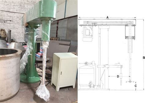 this is our high speed disperser paint color mixer machine