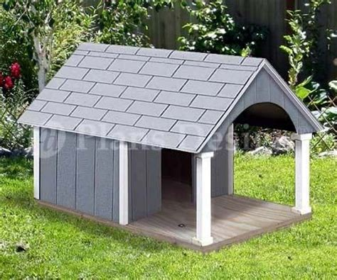 small dog house plans gable roof style  porch design  wood crafts