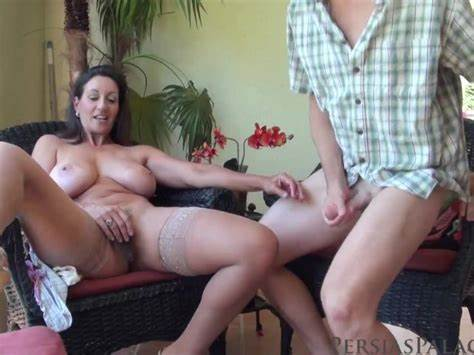 Mother Shows Her Lovely Gloves