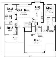 rectangle single level house plans eplans colonial house plan single level living