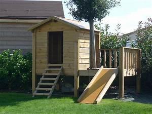 Cabane En Bois Pour Enfant : cabane bois enfant les cabanes de jardin abri de jardin ~ Dailycaller-alerts.com Idées de Décoration