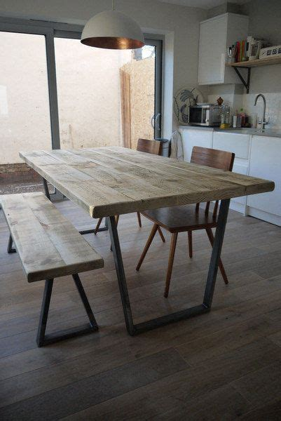john lewis calia style industrial reclaimed plank top