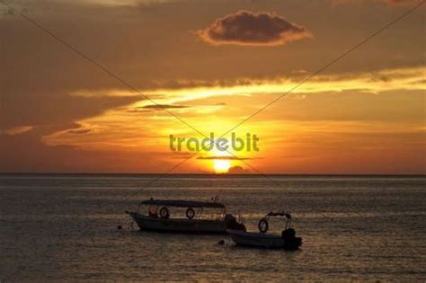 Motorboat Malaysia by Motorboat At Sunset On The Of Panuba Pulau Tioman
