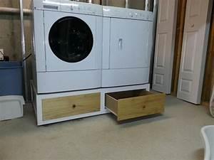 Washer Dryer Pedestal - by JohnMeeley @ LumberJocks com