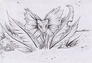 Frilled Lizard Drawing | www.imgkid.com - The Image Kid ...