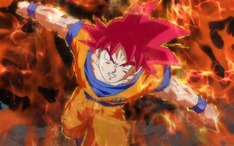 son goku super saiyan god dragon ball  battle  gods