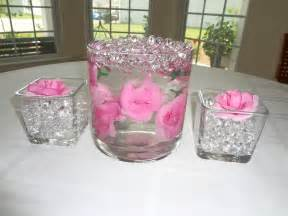 vases for wedding centerpieces water centerpiece on