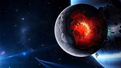Planet Wallpapers Core Destruction Meltdown Fantasy Planets