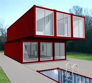 merveilleux maison en conteneur a vendre 2 maison With maison container a vendre