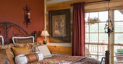 cinnamon wall  Cinnamon wall paint bedroom accent wall