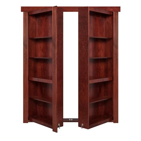 Murphy Bookcase by The Murphy Door 60 In X 80 In Flush Mount Assembled