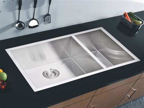 Stainless Steel Undermount Kitchen Sink, Stainless Steel